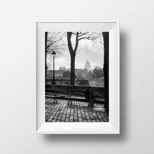 Tirage Photo Paris Ile saint-Louis Panthéon