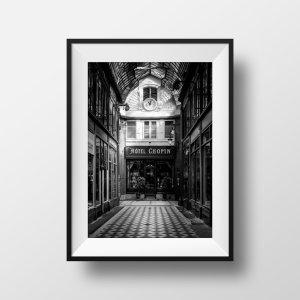 Tirage Photo de Paris – Passage Jouffroy