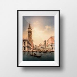 Photo Ancienne Venise Place Saint-Marc