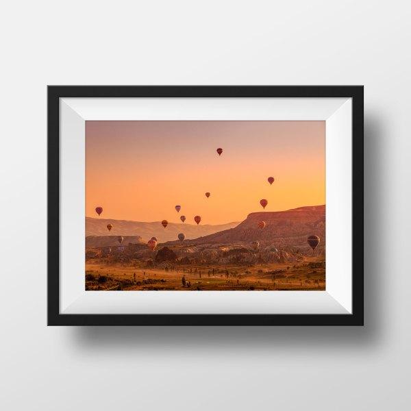 Photo Montgolfière Göreme Cappadoce