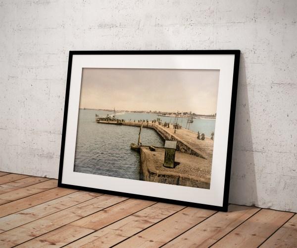 Photo Ancienne Bretagne Lorient Port Louis