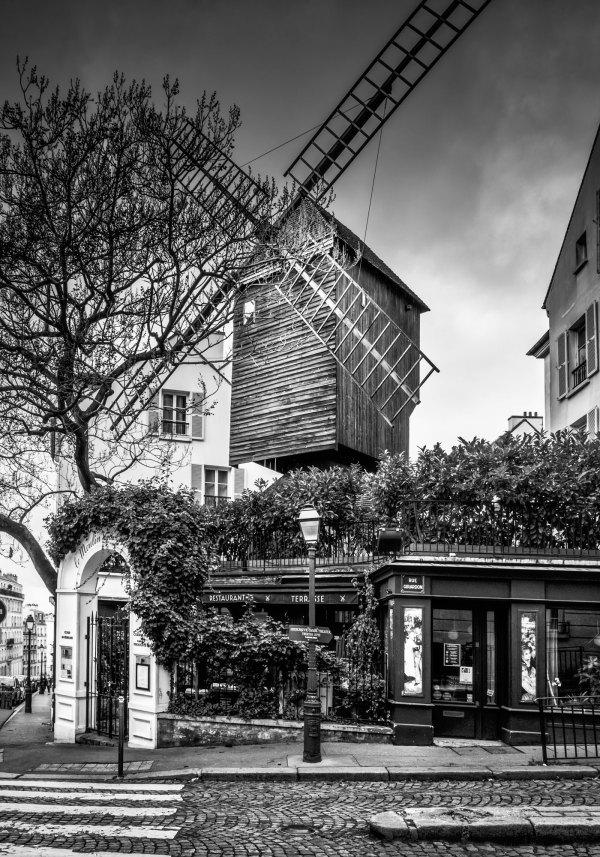 Photo Le Moulin de la Galette Paris Montmartre