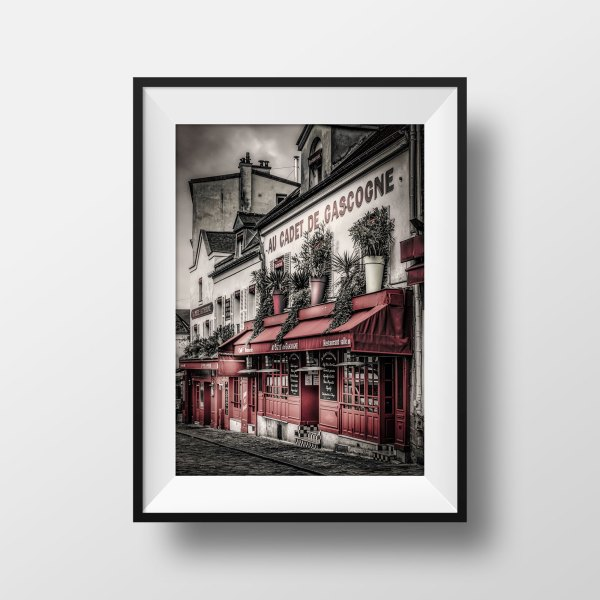 Photo Paris Montmartre Place Du Tertre Couleur