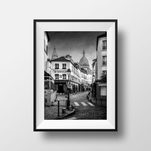Photo de Paris Montmartre – Rue Norvins Le Consulat