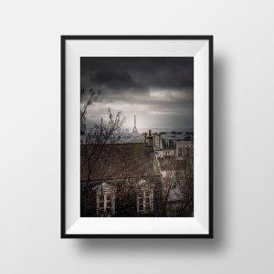 Les Toits de Montmartre et La Tour Eiffel