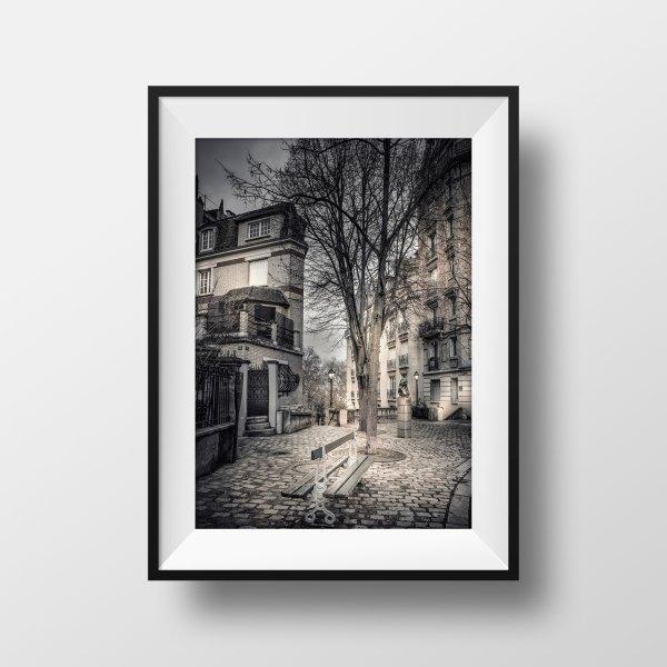 Photo Montmartre Vieux Paris Place Dalida