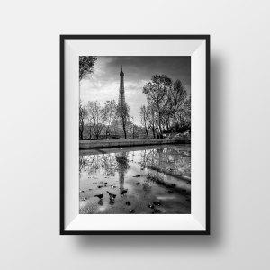 Photo Paris La Tour Eiffel Palais de Tokyo
