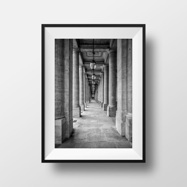 Jardin du Palais Royal Galerie de Chartres