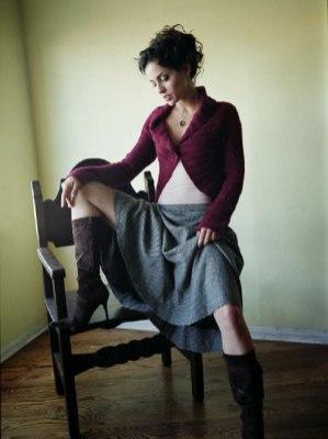 Emmanuelle sitting skirt