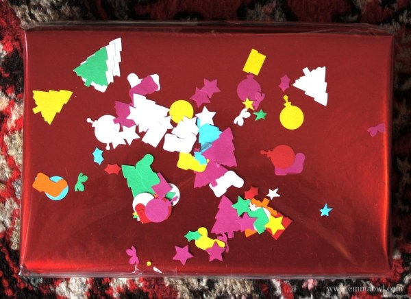 DIY Confetti Gift Wrap