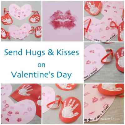 Send Hugs and Kisses this Valentines Day