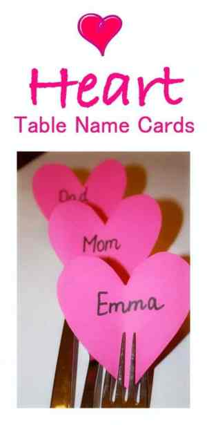 The easiest and cutes table name cards to use for any LOVELY occasion