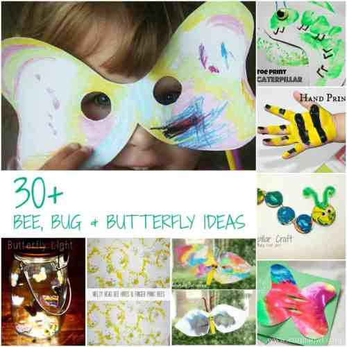 Bees Bugs and Butterflies - more than 30 ideas