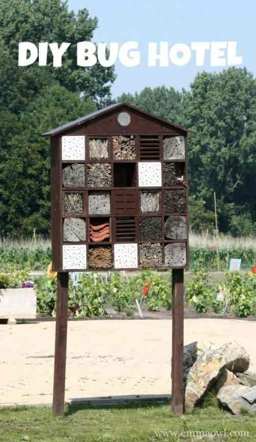 DIY Bug Hotel. Why do you need bugs in your garden