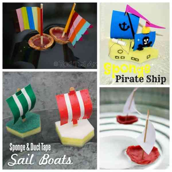 Sail Boats for the Bath