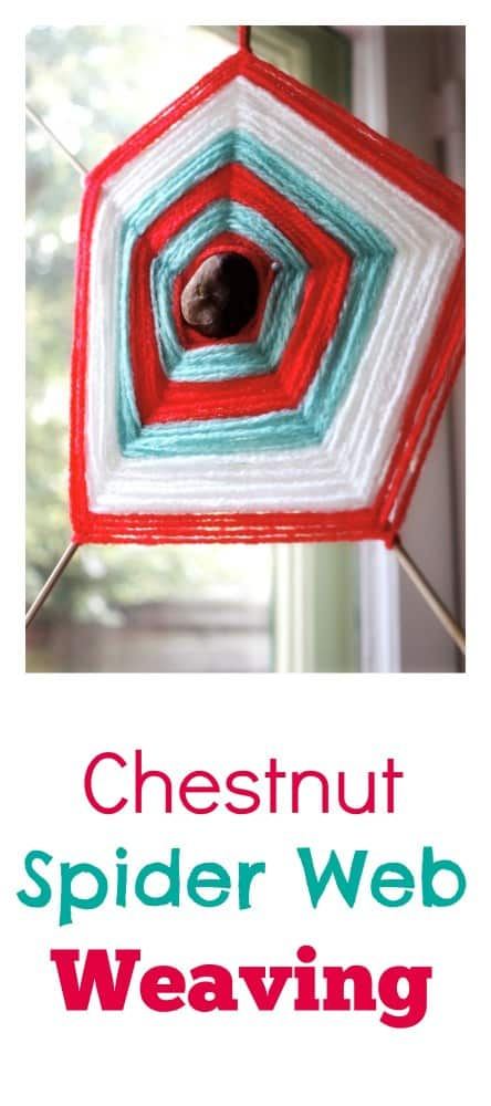 Awesome Chestnut Autumnfall Craft Activity for Kids. Great idea following a nature walk...