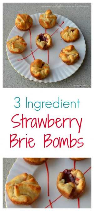 This is so easy to make! 3 Ingredients and wow - this recipe is THE BOMB of nom nom!!