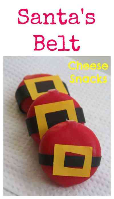 Delightful little cheese snack ideas for Christmas. Kids will love this clever idea!
