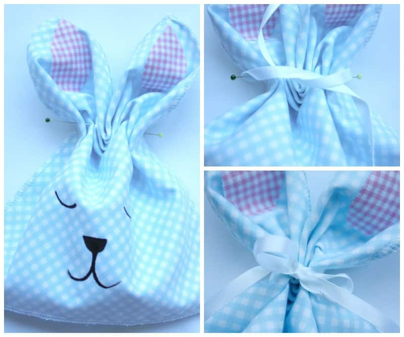 Kids Easter Bunny Bags. Great Easter Craft Idea