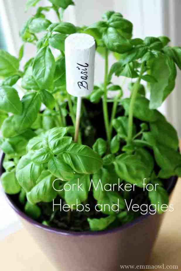 Basil Herb Marker. Perfect for Herb and Veggie Gifts
