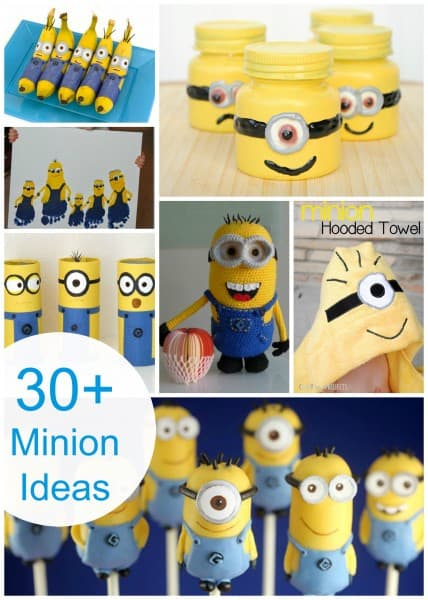 30 Great Ideas For Fireplace Christmas Decorations: 30 MINION Ideas! Assemble The Minions!!