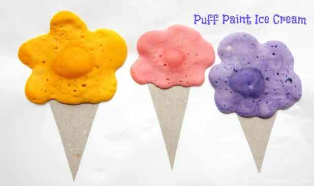 puff paint ice cream