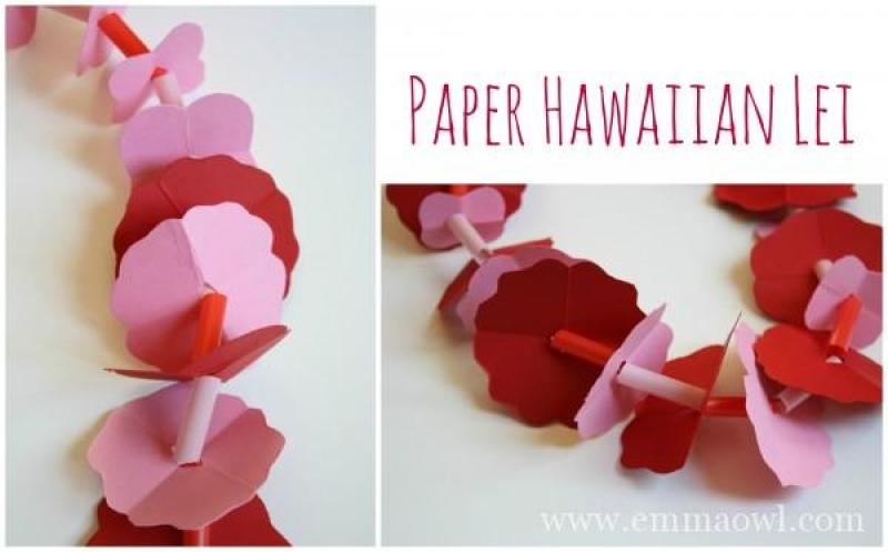 Make your Own Paper Lei