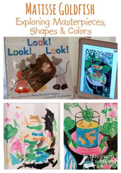 Matisse-Goldfish-Masterpieces-Shapes-and-Colors-Art-History-for-Preschool-455x650