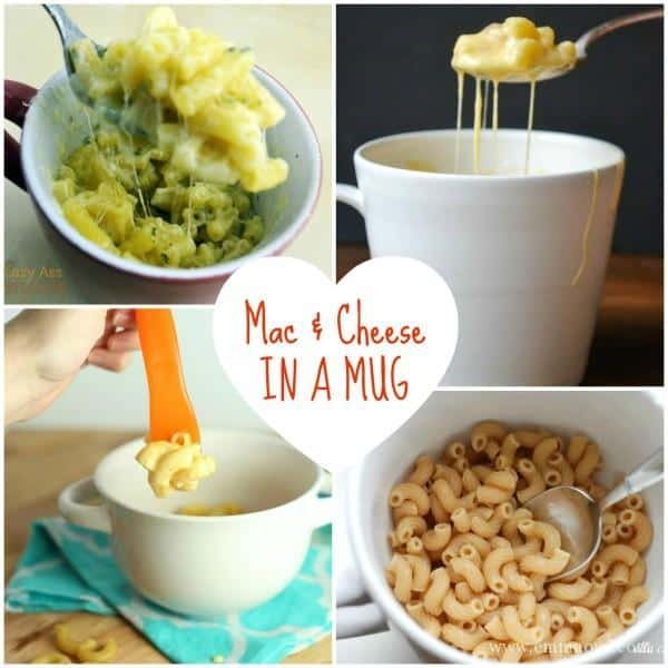 Mac & Cheese in the Microwave in a mug