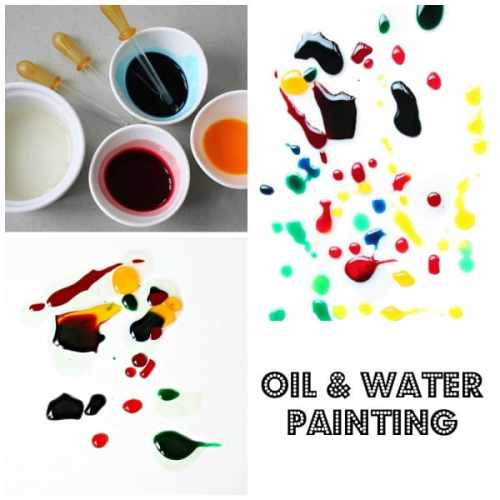 Oil and Water Painting