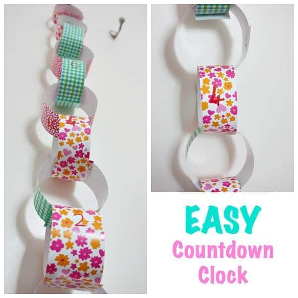 Easy Countdown Clock for children