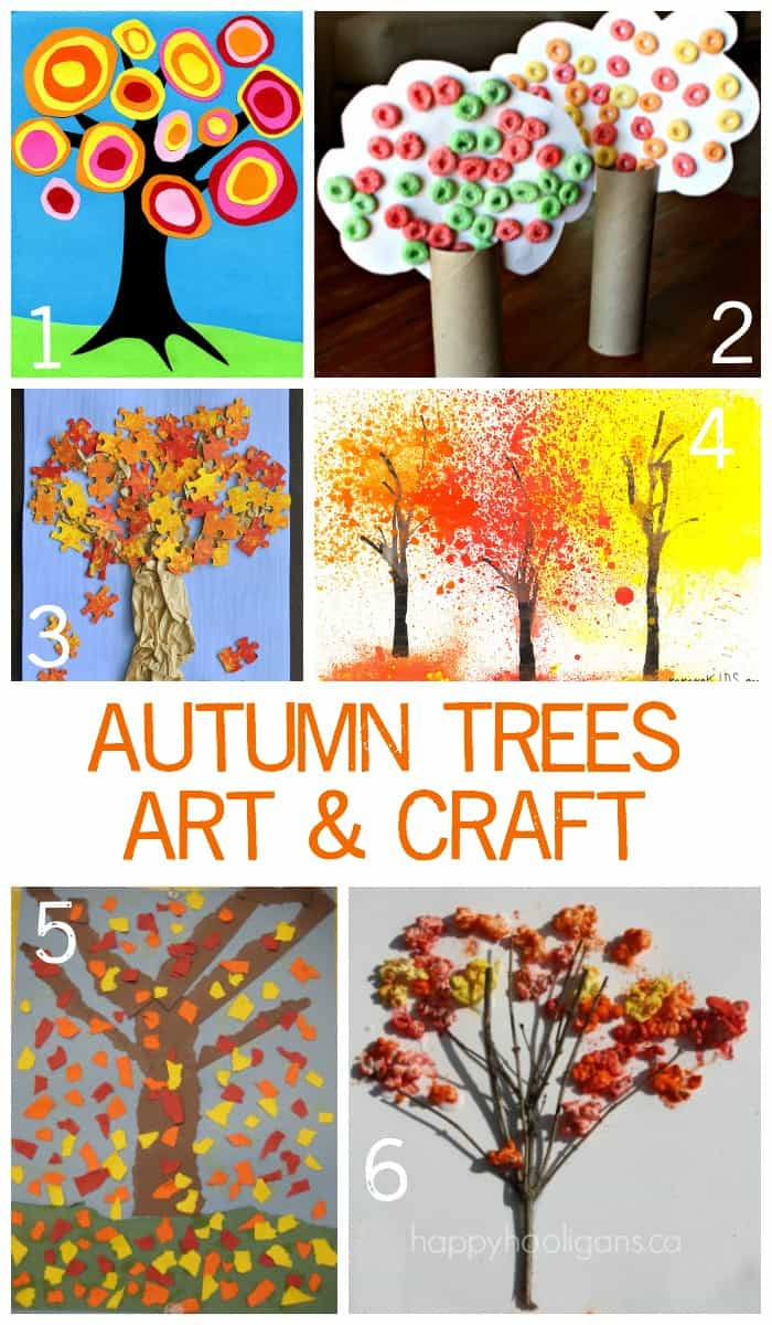 Autumn Art And Craft Project Ideas For Children Of All Ages Emma Owl