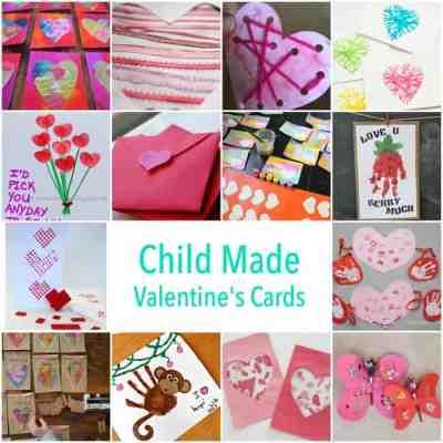 Child Made Valentines Card Ideas