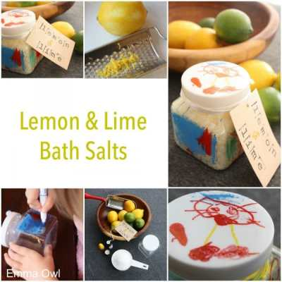 Lemon and Lime Bath Salts