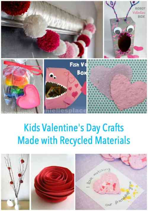 Recycled Valentines Craft Ideas