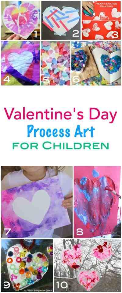 process art ideas for children