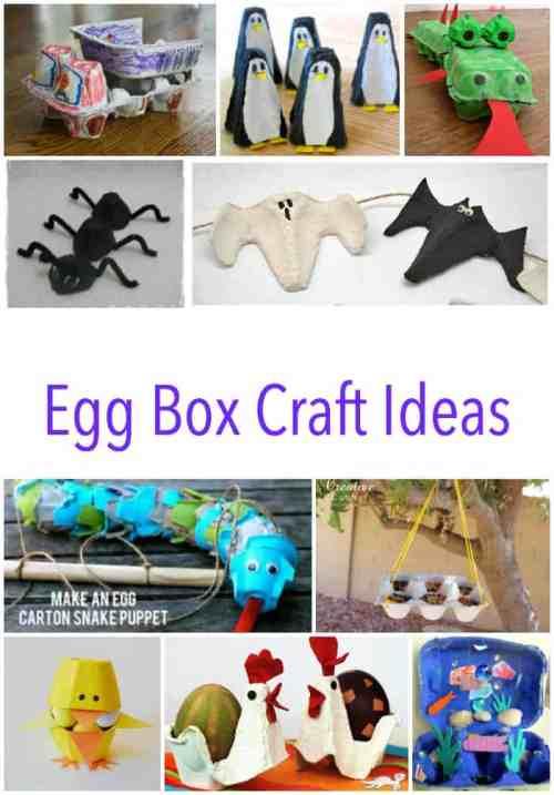 Egg Box Craft Ideas