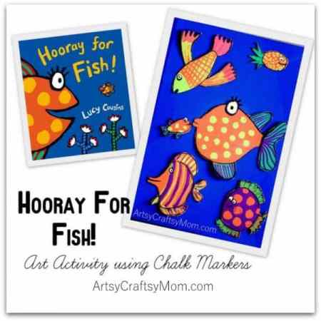 Hooray-For-Fish-Art-Activity-using-Chalk-Markers-2