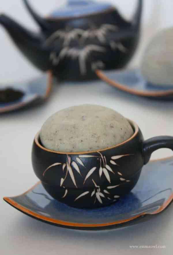 Green Tea Play Dough Recipe