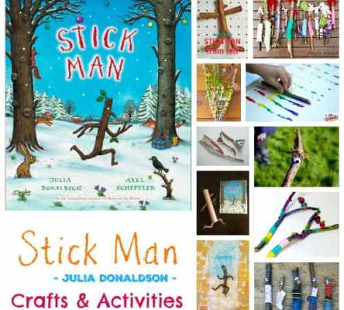 Stick Man - Crafts and Activities