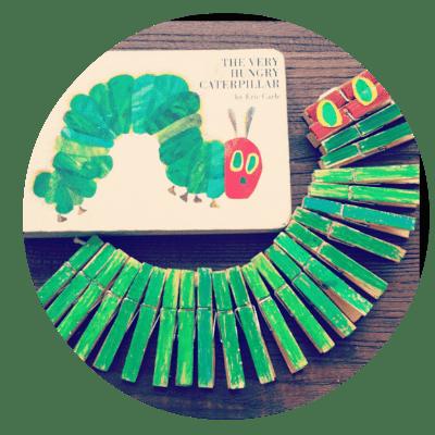 clothing pen caterpillar