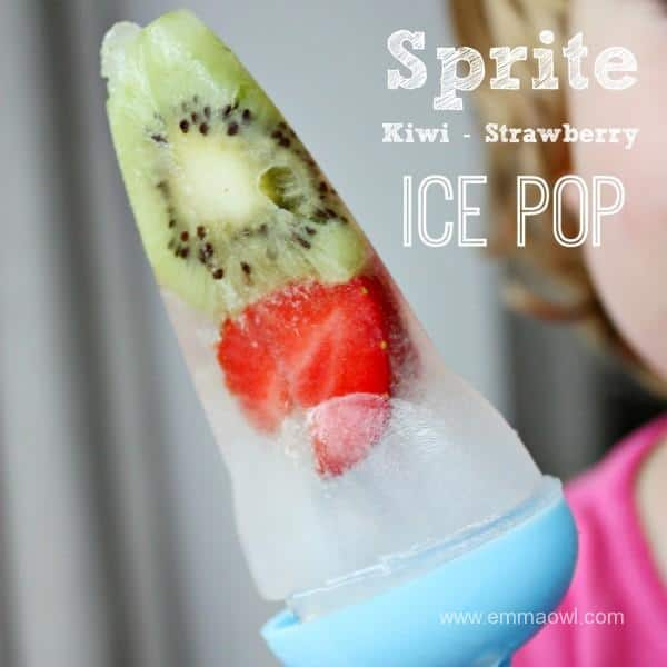 Sprite Kiwi Strawberry Ice Pop