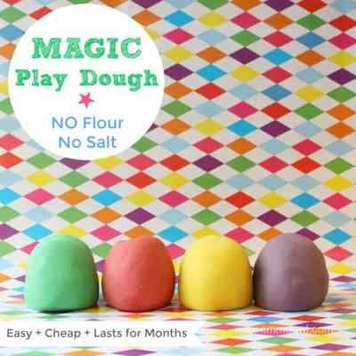 Magic Play Dough - No Flour No Salt