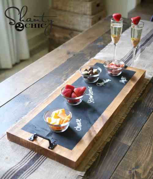 chalkboard-and-wood-serving-tray