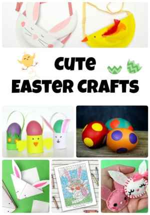 9 Cute Easter Crafts-Pinterest