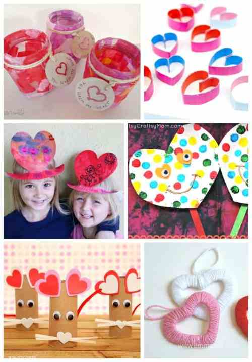Valentines quick and easy ideas for children