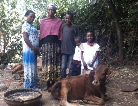 La famiglia di Yonas