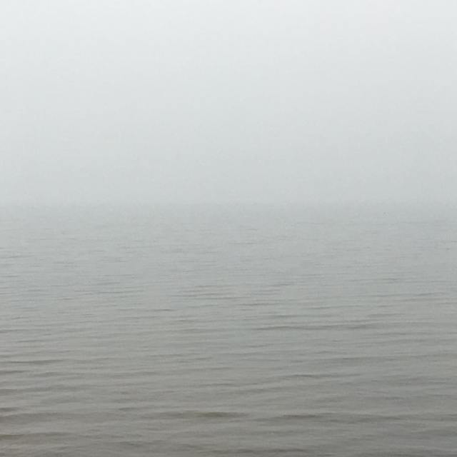 A little fog this morning Perfect writing weather lakelife