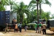 BENIN Davougon W arrivée du conteneur 43