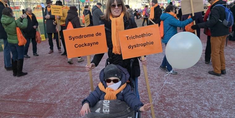 La marche des maladies rares